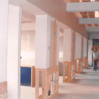 Minster Dental building construction interior
